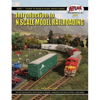 0006 Atlas Introduction to N Scale Model Railroading Book