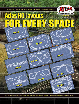 0011 Atlas HO Layouts For Every Space Book