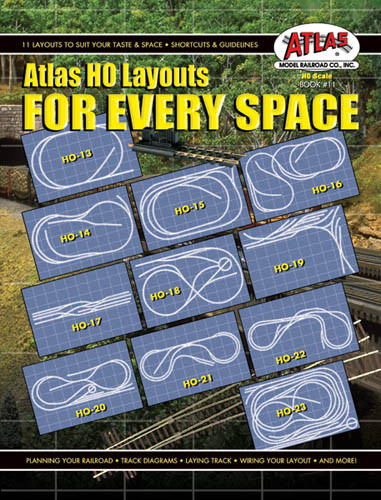 0011 atlas ho layouts for every space book t and k hobby rh tandkhobby com Atlas Turntable Wiring DCC atlas complete wiring book