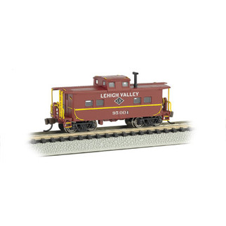 16858 N Scale Bachmann Northeast Steel Caboose Lehigh Valley #95004