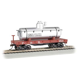 72103 HO Scale Bachmann Olde Tyme Tank car-Philadelphia & Reading