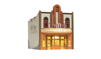 BR5854 O Scale Woodland Scenics Theater