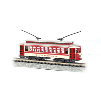 61087 N Scale Bachmann Brill Trolley-United Traction