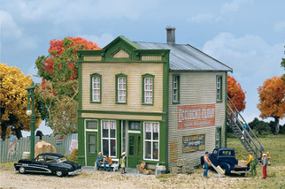 933-3650 HO Scale Walthers Cornerstone River Road Mercantile Kit