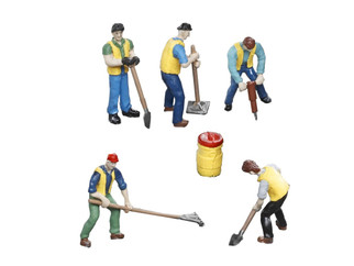 6-83171 O Scale Lionel MOW Workers Figure Pack