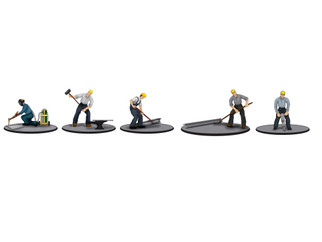 6-83168 O Scale lionel Iron Workers Figure Pack