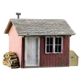 BR5857 O Scale Woodland Scenics Work Shed