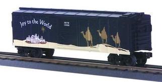 30-7426 O Scale MTH RailKing 1998 Holiday Box Car(TC)