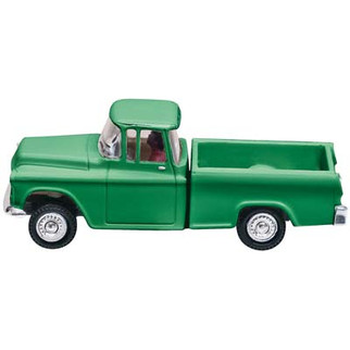 JP5590 HO Scale Woodland Scenics Just Plug Lighting System Vehicle-Green Pickup