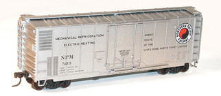 3126 HO Scale Accurail 40' Plug Door Boxcar Kit-Northern Pacific