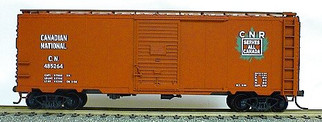 3508 HO Scale Accurail 40' AAR Boxcar Kit-Canadian National(Maple Leaf)
