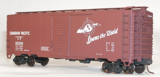 35239 HO Scale Accurail 40' AAR Boxcar Kit-Canadian Pacific