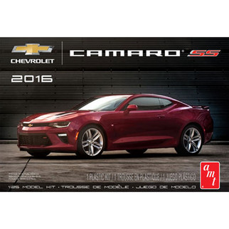 AMT978 AMT 2016 Chevrolet Camaro SS 1/25 Scale Plastic Model Kit