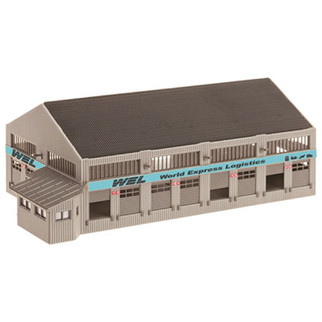 213 HO Scale Model Power World Express Logistics Center Kit