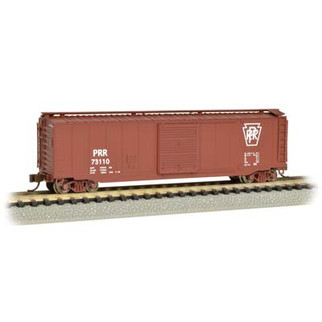 19459 N Scale Bachmann 50' Sliding Door Box Car-Pennsylvania