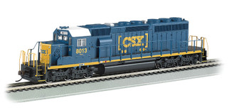 67202 HO Scale Bachmann EMD SD40-2 Diesel Locomotive DCC Sound Value Equipped-CSX #8013