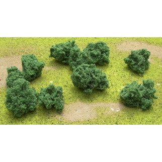 "95062 JTT Scenery Foliage Clumps and Undergrowth 1/2"" to 1"" Clumps 55/pk"