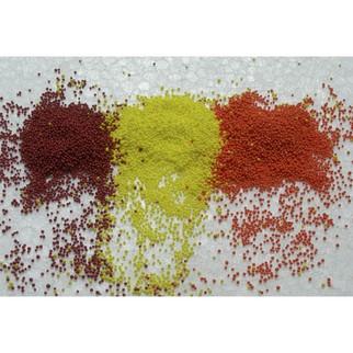 92124 HO Scale JTT Scenery Orange, Apple, Lemon Fruit 10 grams