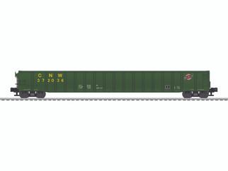 6-83318 O Scale Lionel 65' Mill Gondola-Chicago North Western # 372036
