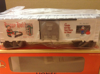 6-16272 O Scale Lionel 1997 Christmas Boxcar