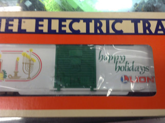 6-19910 O Scale Lionel 1990 Season's Greetings Car