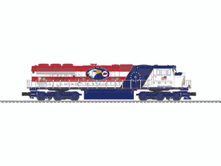 6-84400 O Scale Lionel Burlington Northern Legacy SD60M Locomotive #1991
