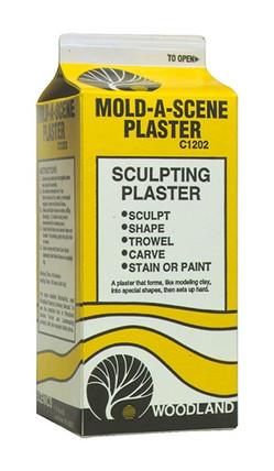 C1202 Woodland Scenics Mold-A-Scene Plaster (1/2 gal.)