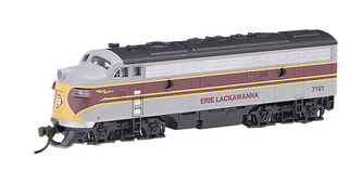 63754 N Scale Bachmann F7A Diesel Locomotive-Erie Lackawanna (DCC)