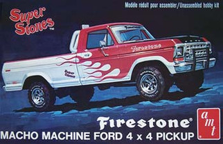 AMT858 AMT 1978 Ford Pickup 1/25 Scale Plastic Model Kit