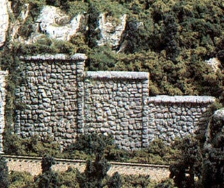 C1161 Woodland Scenics N Scale Random Stone (6 each)