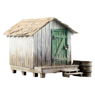 BR5058 HO Scale Woodland Scenics Built Shack Built-Up