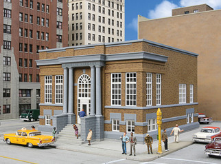 933-3493 HO Scale Walthers Cornerstone Public Library Kit