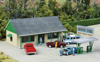 933-3491 HO Scale Walthers Cornerstone Country Store KIt