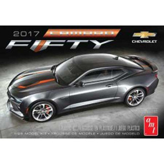 AMT1035M AMT 2017 Chevy Camaro 50th Anniversary 1/25 Scale Plastic Model Kit