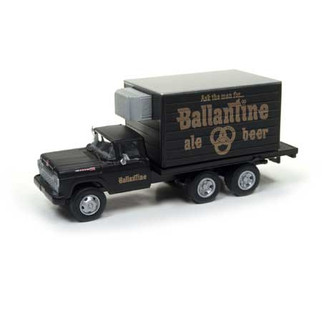 30497 HO Scale Classic Metal Works '60 Ford Refrigerated Delivery Truck-Ballantine Beer