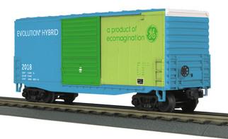 30-74912 O Scale MTH RailKing 40' High Cube Box Car-GEVO