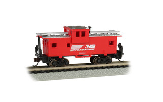 70756 N Scale Bachmann 36' Wide Vision Caboose-Norfolk Southern #X501