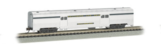 14653 N Scale Bachmann 72' Streamline Fluted 2-Door Baggage-B&O