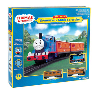 00642 HO Scale Bachmann Thomas with Annie & Clarabel Train Set