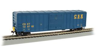 14904 HO Scale Bachmann 50' Outside Braced Box Car w/Track Powered Flashing LED End of Train Device-CSX