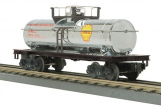 30-73532 O Scale MTH RailKing Tank Car-Shell(Chrome)