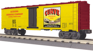 30-78202 O Scale MTH RailKing Modern Reefer Car-Curve Beer