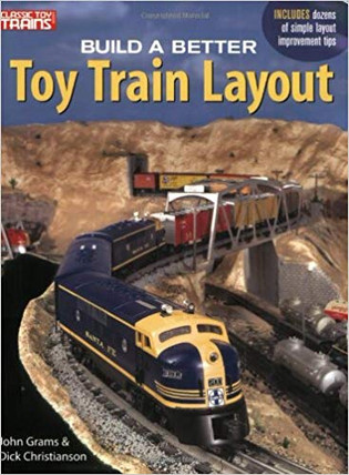108803 Kalmbach Build a Better Toy Train Layout Book