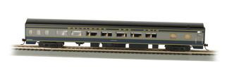 14203 HO Scale Bachmann Smooth-Side Coach w/Lighted Interior B&O