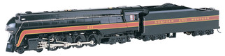 53201 HO Scale Bachmann Norfolk & Western 4-8-4 Class J#611 RailFan-DCC Sound Value