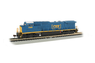 67353 N Scale Bachmann GE Dash 8-40CW Locomotive CSX #7369-DCC Econami Sound Value