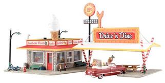 BR5029 HO Woodland Scenics Drive'n Dine