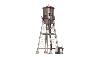 BR5866 O Scale Woodland Scenics Rustic Water Tower-Built-Up