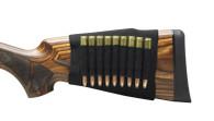 Max-Hunter Elastic Butt Stock Rifle Shell Holder - 9rd Capacity