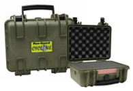 Cyclone Small Pistol Hard Case - Green